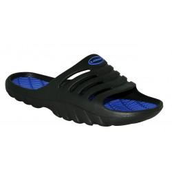 Loap SOWER pánské pantofle, černo modré V11L