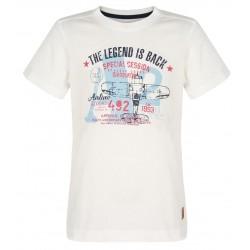 Loap ILTUS dětské triko, bílé A14A