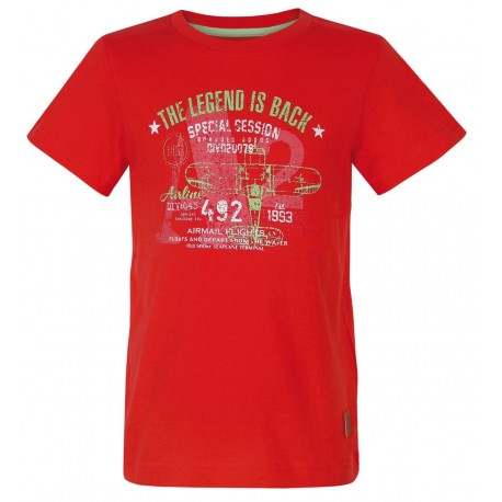 Loap ILTUS dětské triko, červené G38G