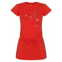 Loap INKLINA dívčí šaty, oranžové E34E