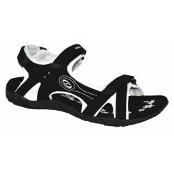 Loap CAFFA dámské sandále, černá/bílá