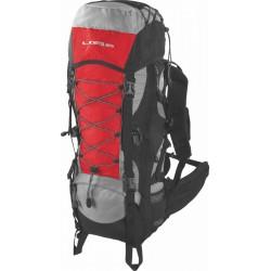 Turistický batoh Loap EIGER 50+10, červený