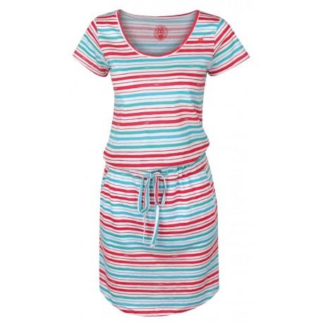 Loap ASHY dámské šaty, bílé A25X