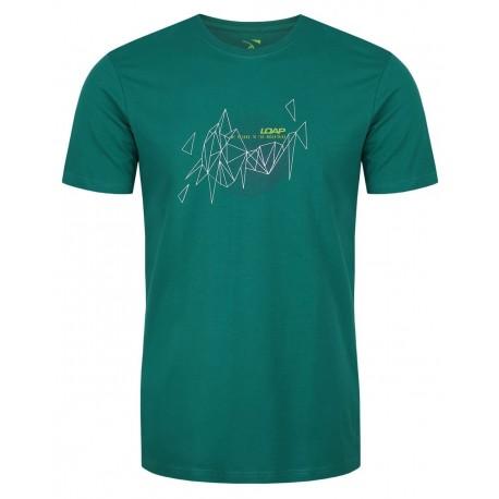 Loap ATOL pánské triko, zelené P21P