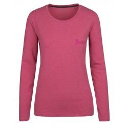 Loap BEKA dámské triko, růžové J94X