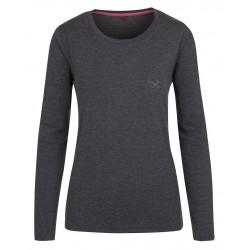 Loap BEKA dámské triko, šedo černé V21V