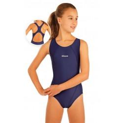 Dívčí jednodílné sportovní plavky Litex 93599, modré