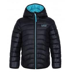 Loap UDATEL dětská zimní bunda, černá V21V