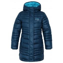 Loap URZIKA dívčí zimní kabát, tmavě modrý I10I