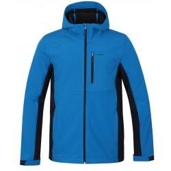 Loap LUTEK pánská softshellová bunda, modrá M39I