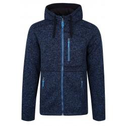 Loap GODET pánský svetr s kapucí, tmavě modrý I01X