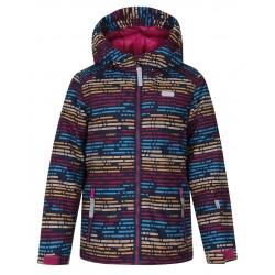 Loap ZENGO dětská zimní bunda, růžová J78X