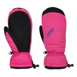 Loap RAKELX palcové rukavice, růžové J75J