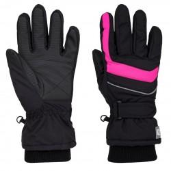 Loap NINOS dětské lyžařské rukavice, růžové V20J