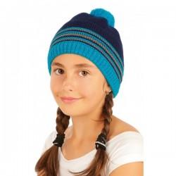 Litex dětská čepice 90425, modrá