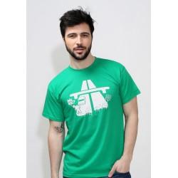 Dál nic, pánské triko Bastard, zelené
