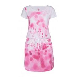 Loap BUBBA dámské šaty, bílá A14A