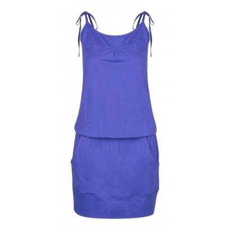 Loap ALARA dámské šaty, modrá M33M
