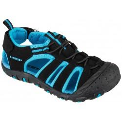 Loap DOPEY dětské sandále, černomodrá V11L