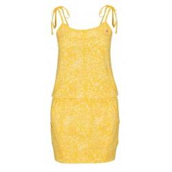 Loap AMIE dámské šaty, žlutá C29X