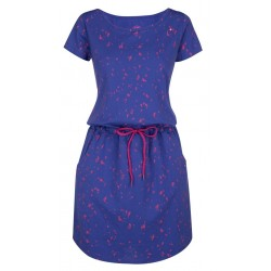 Loap AMBER dámské šaty, modrá M33X