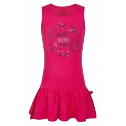 Loap ITILINA dívčí šaty, růžová J33J