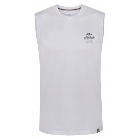 Loap BOXIT pánské triko bez rukávu, bílá A14A