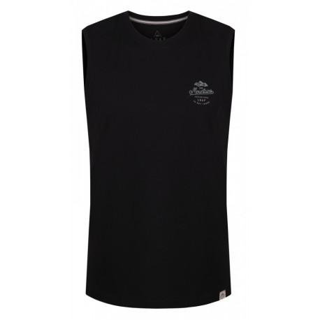 Loap BOXIT pánské triko ber rukávů, černá V21V