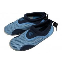 Neoprenové boty do vody pánské, modrá