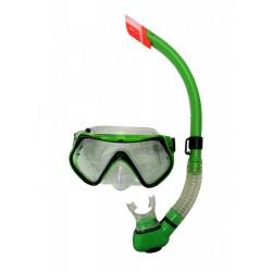 Potápěčský set pro dospělé, zelený