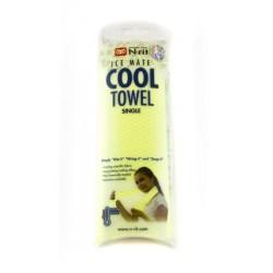 Chladící šátek COOL TOWEL, žlutozelená