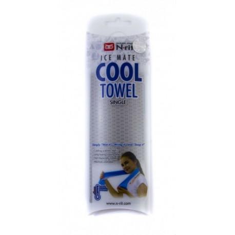 Chladící šátek COOL TOWEL, šedá