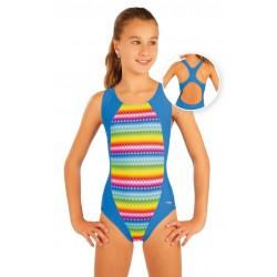 Dívčí jednodílné sportovní plavky Litex 93597