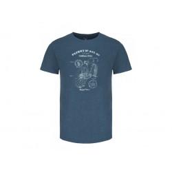 Loap ASHBY pánské triko, modrá I24X