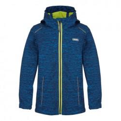 Loap LUSK dětská softshellová bunda, modrá M59X