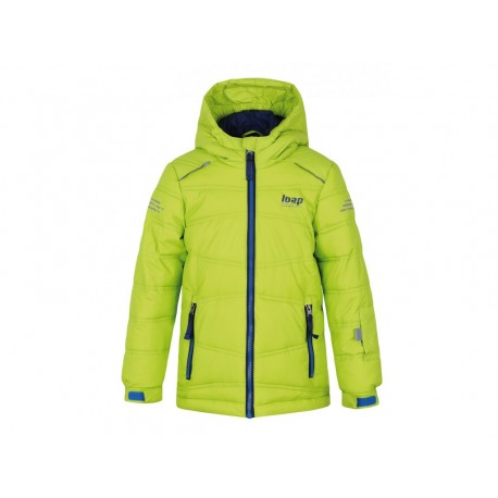 Loap FALDA dětská lyžařská bunda, zelená N91N