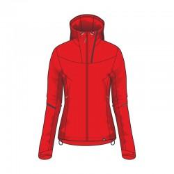 NORTHFINDER dámská softshellová bunda, červená