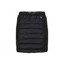 Dámská zimní sukně Loap JUMILA, černá/tisk V21Q
