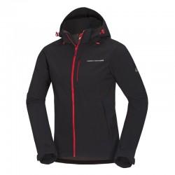 Pánská softshellová bunda NORTHFINDER BU-3485OR, černá