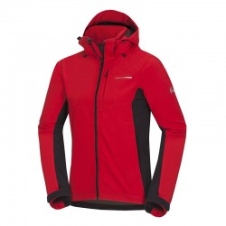 Pánská softshellová bunda NORTHFINDER BU-3485OR, červená