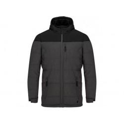 Loap TOMASH pánská bunda, šedo černá T49X