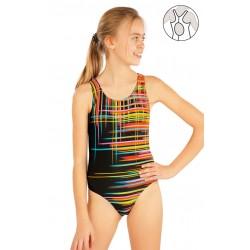 Dívčí jednodílné sportovní plavky LITEX 52626
