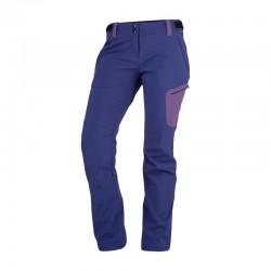 Dámské softshellové kalhoty NORTHFINDER NO-4443OR, fialová