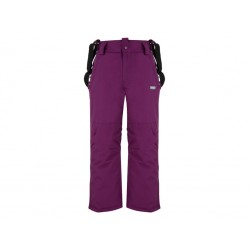 Dětské lyžařské kalhoty Loap CLIPE, fialová K77X