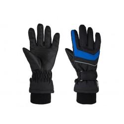 Dětské zimní rukavice Loap RENKO, černo modrá V11L