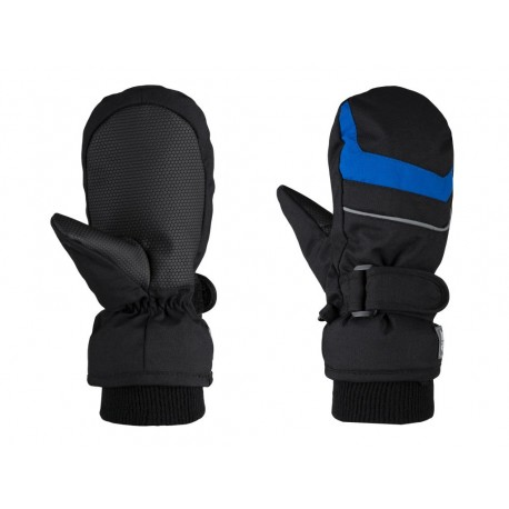 Dětské palčáky Loap RAFKO, černo modrá V21L