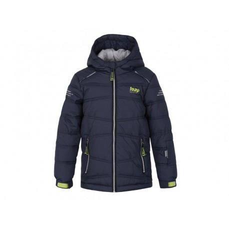 Loap FALDA dětská lyžařská bunda, tmavě šedá V02V