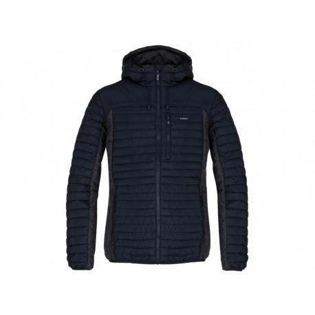 Pánská zimní bunda do města Loap JACKSON, tmavě modrá/šedá L75X