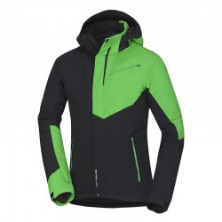 Pánská lyžařská bunda Northfinder BU-3506SNW, černo zelená