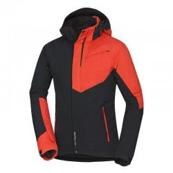 Pánská lyžařská bunda Northfinder BU-3506SNW, černo červená